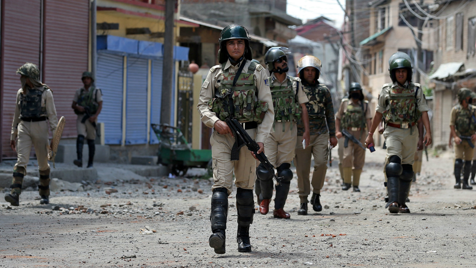 The jingoistic tweet about Kashmir has come just at a time when India is trying to soothe nerves there.