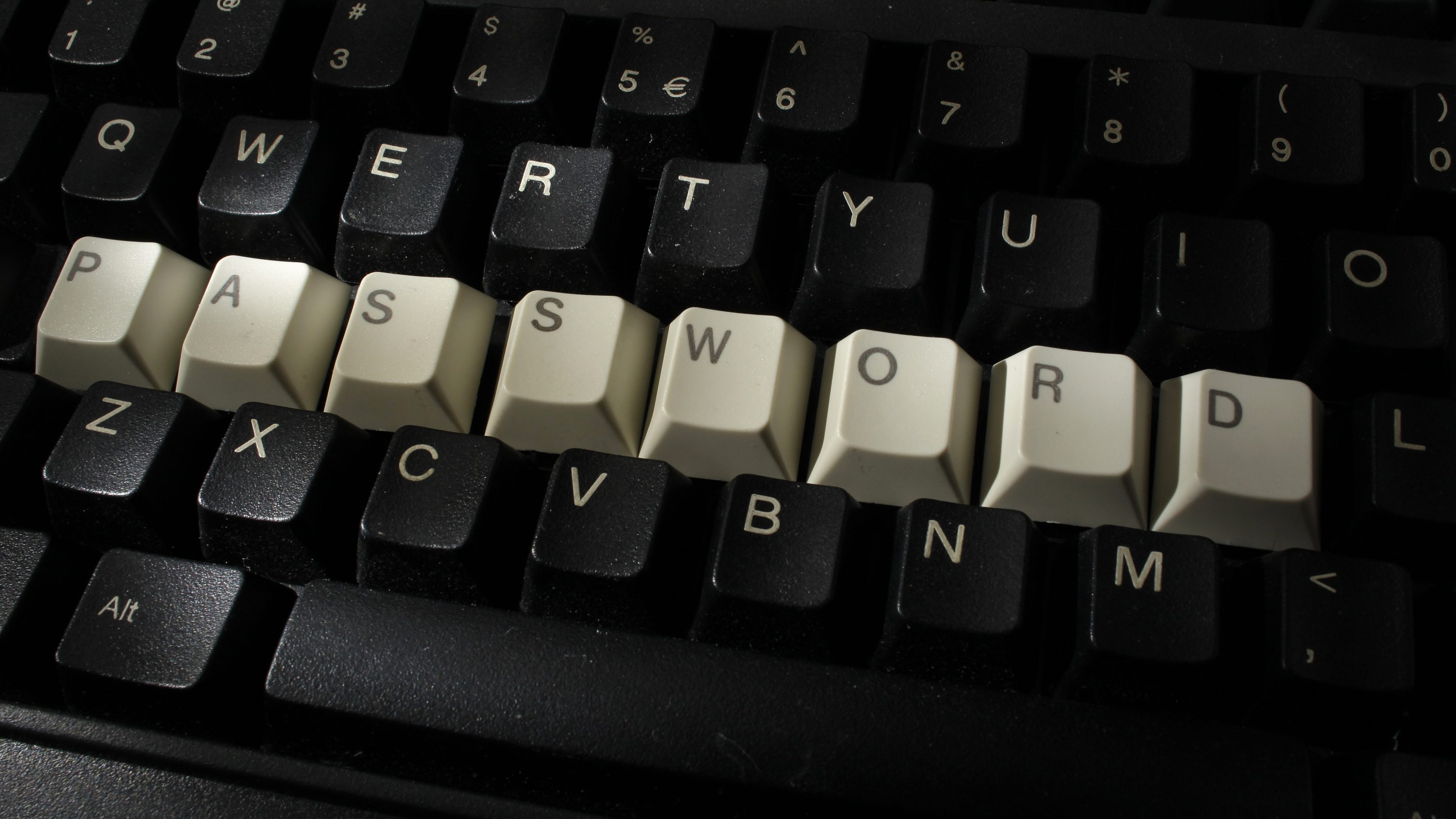 A computer keyboard with letters stacked forming the word 'password'  is seen in this illustration picture taken in Warsaw, December 12, 2013.
