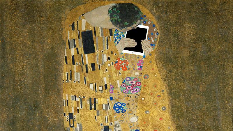 Gustav Klimt via Kim Dong-kyu