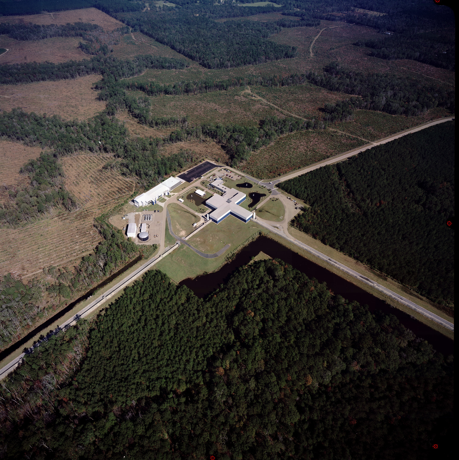 LIGO's Livingston detector site.
