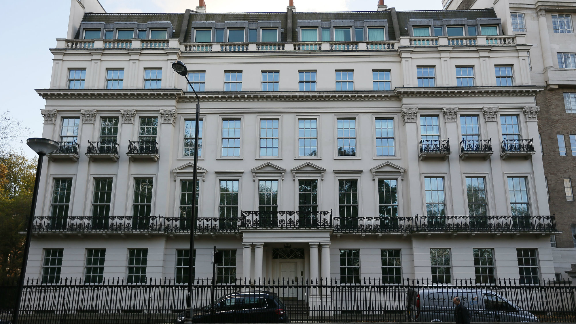 One of London's largest residential properties