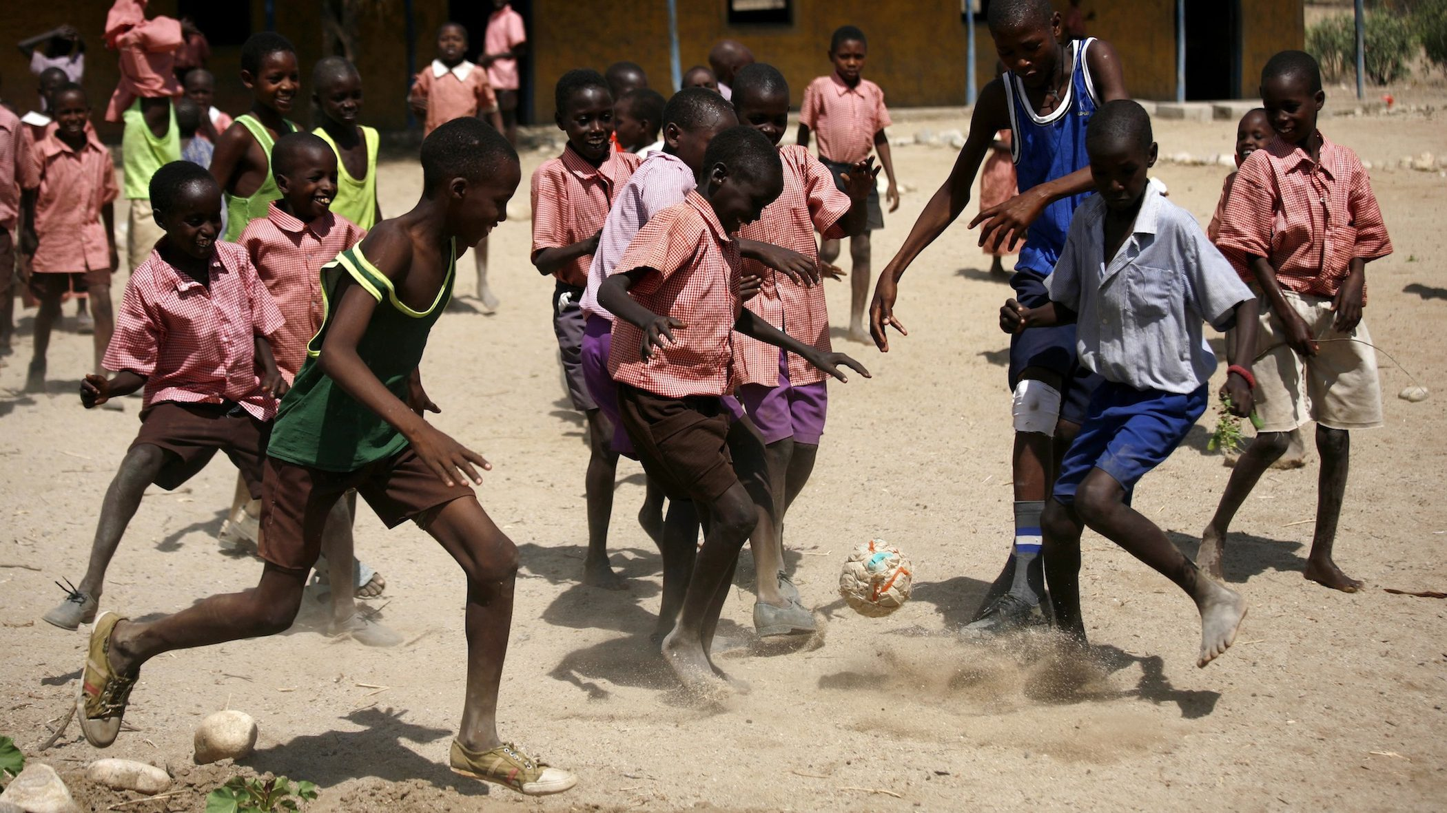 According to a new study, Tanzanian kids are among the world's fittest while Americans are among the least.