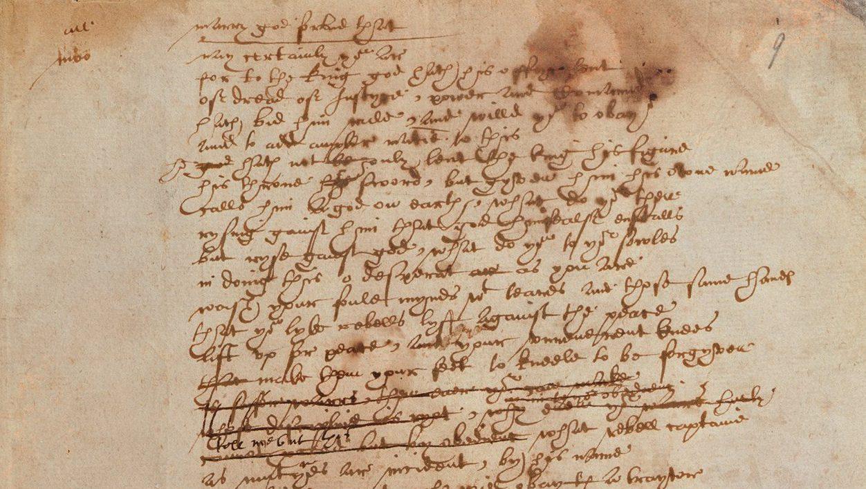 Shakespeare Thomas More