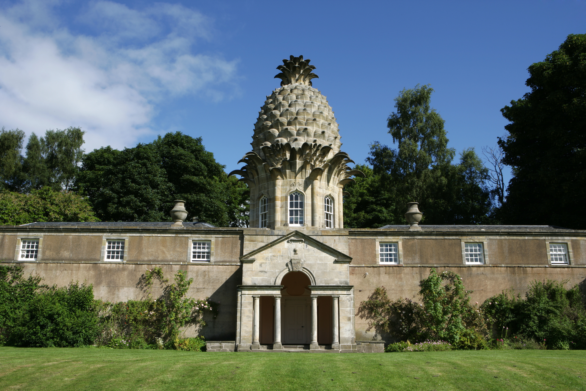 The Pineapple, 1760s, Dunmore