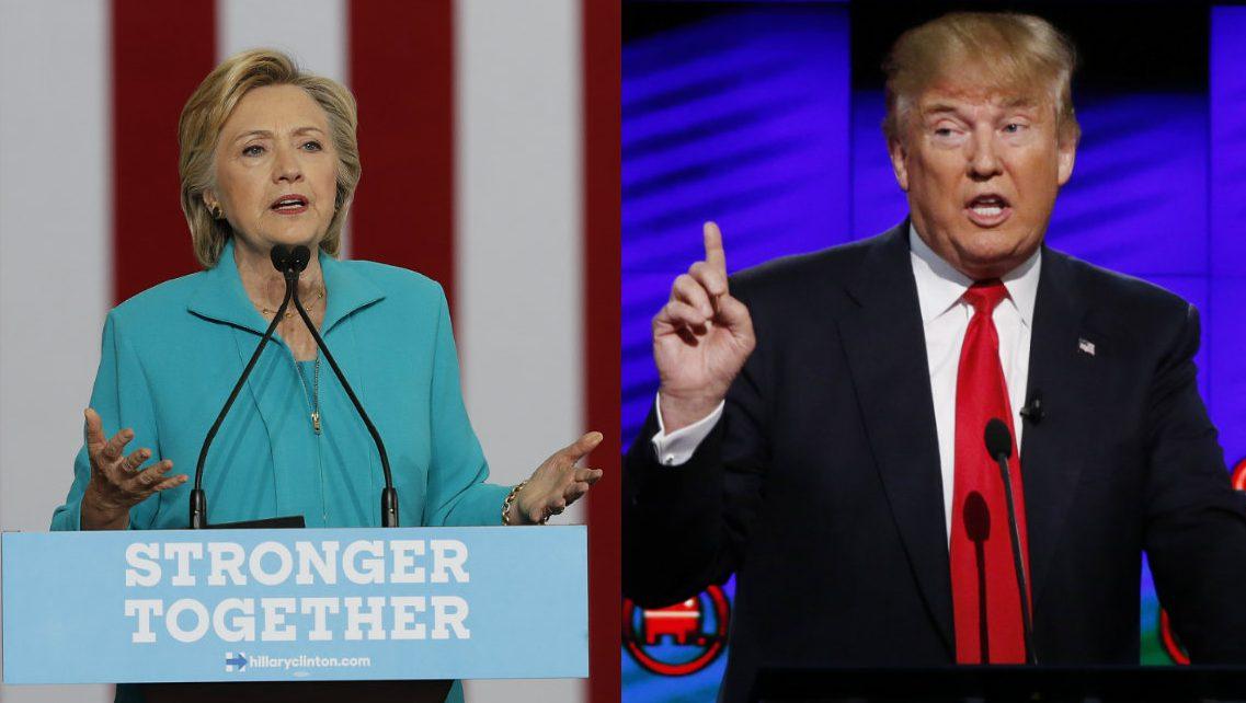 presidential debate 2016 donald trump hillary clinton