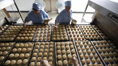 Hong Kongers throw out millions of uneaten mooncakes every year.