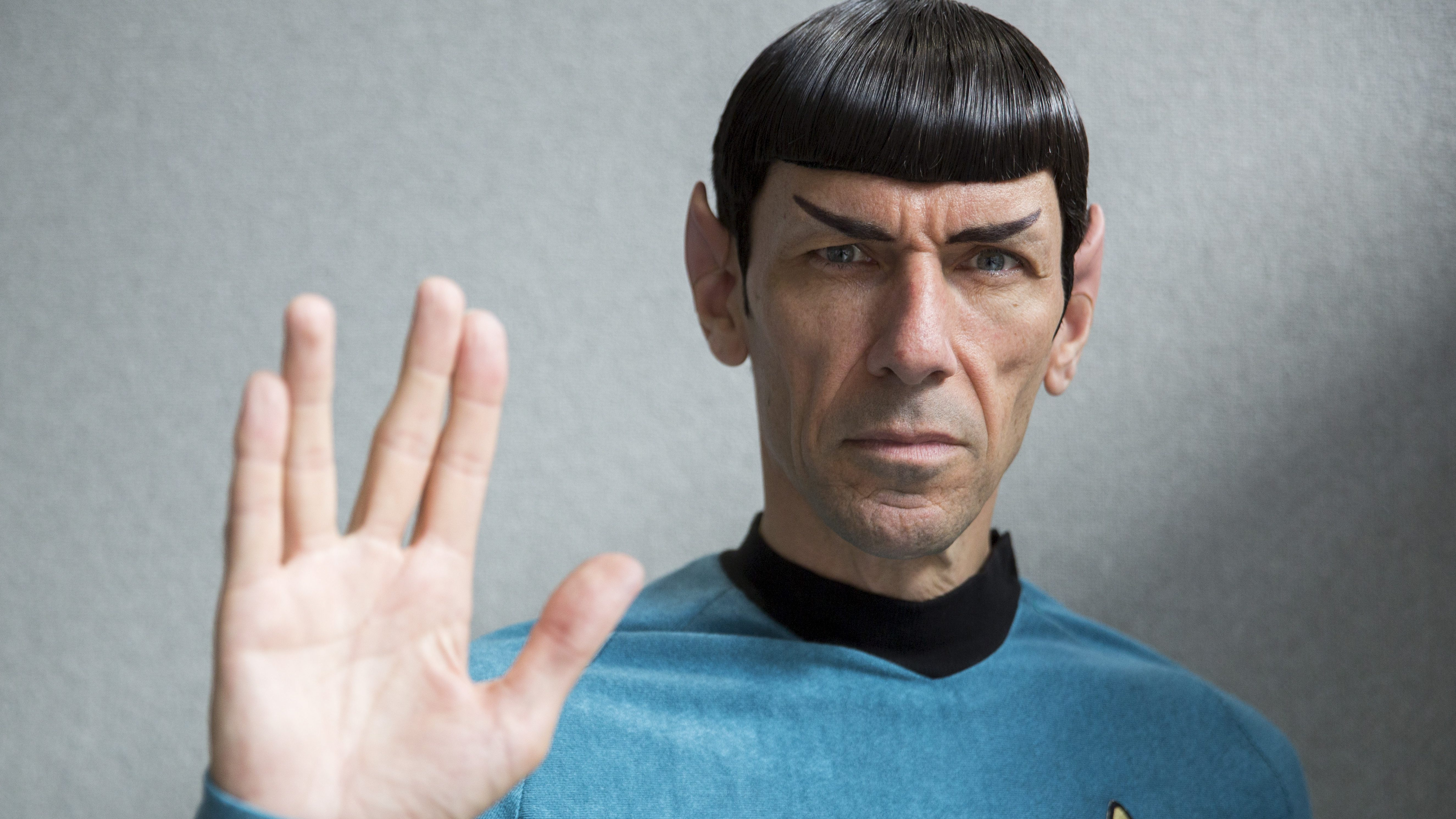 """An impersonator poses in costume as the character Mr Spock from the science fiction series """"Star Trek"""" at the London Film and Comic-Con in London, Britain July 17, 2015. REUTERS/Neil Hall      TPX IMAGES OF THE DAY      - RTX1KPX6"""