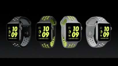 Ingenioso dramático pañuelo  Apple Watch Nike+: Apple and Nike are teaming up on a watch for runners —  Quartz