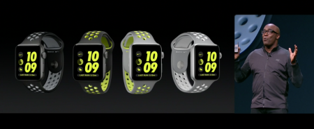 Trevor Edwards unveils the Apple Watch Nike+