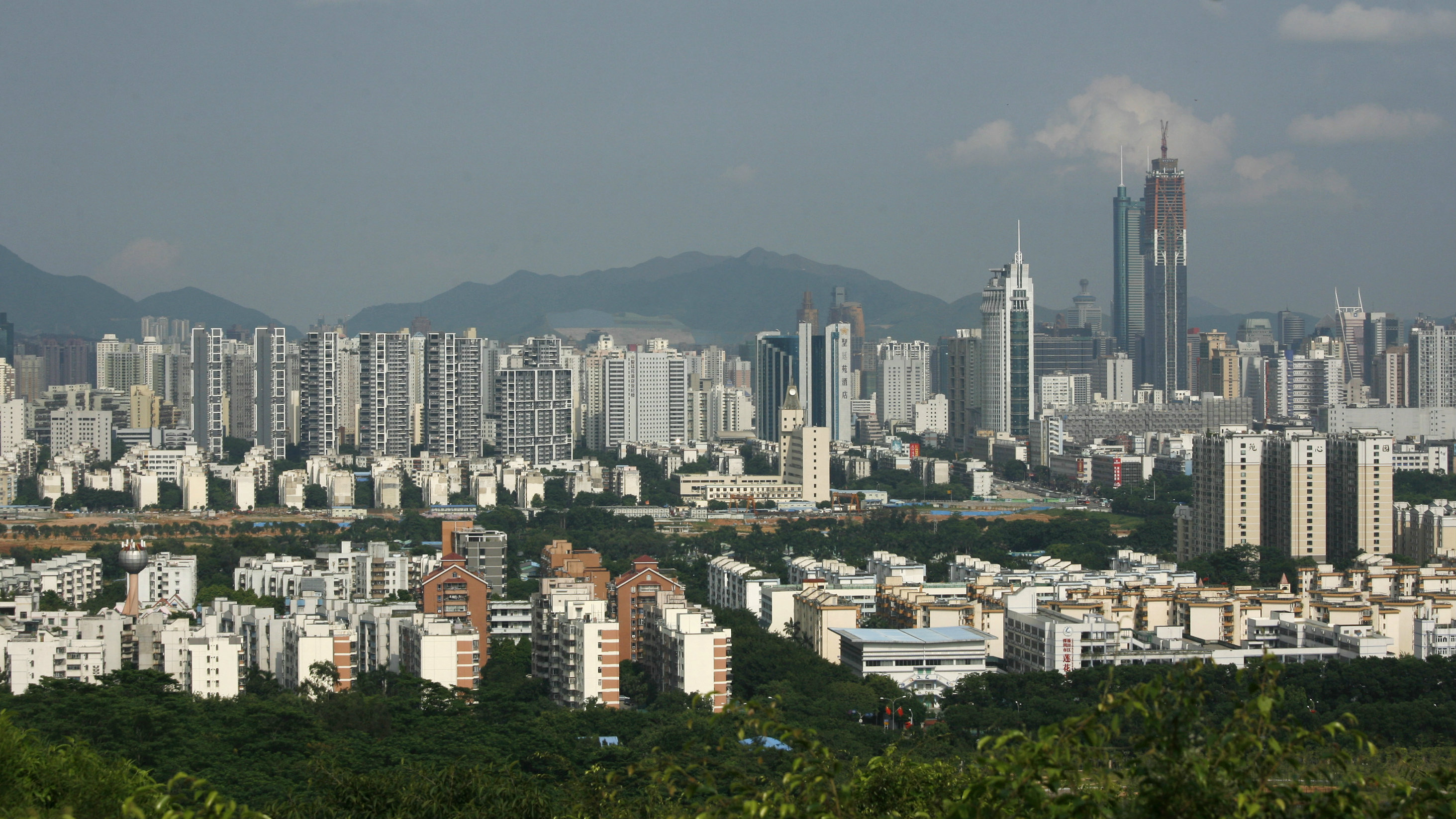Shenzhen, China's hardware manufacturing hub.