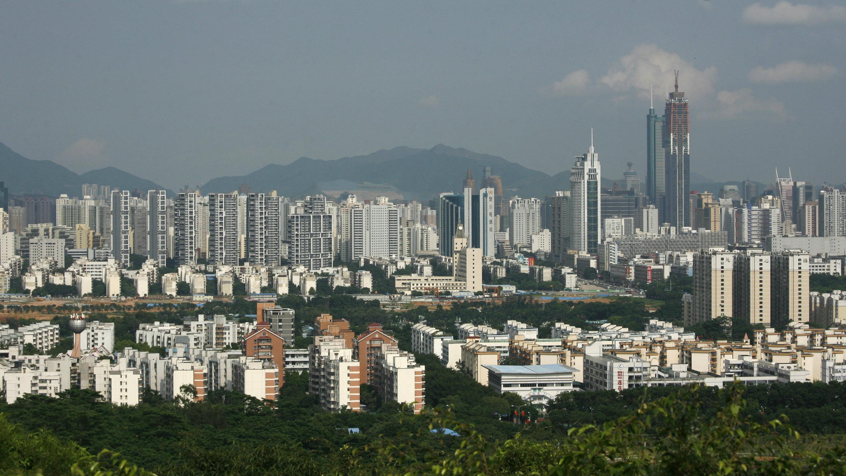 Shenzhen, China's hardware manufacturing hub.