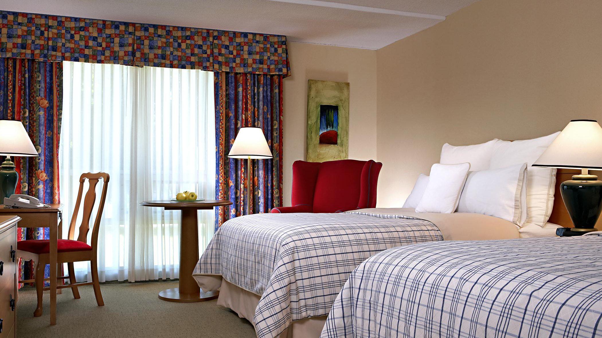 A Starwood hotel room.