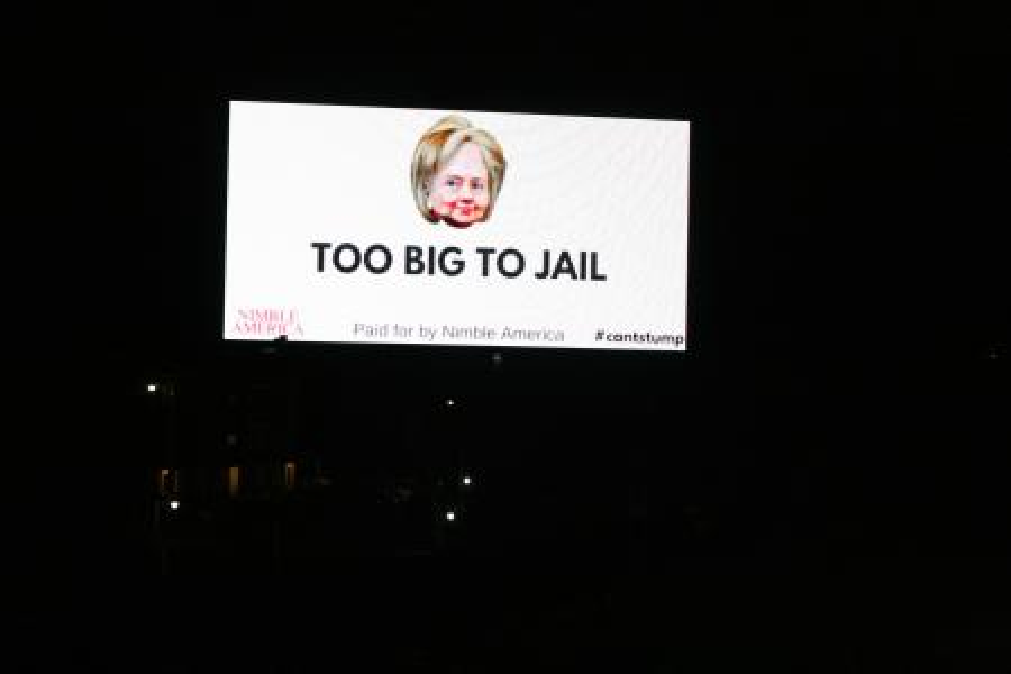 Too big to jail nimble america
