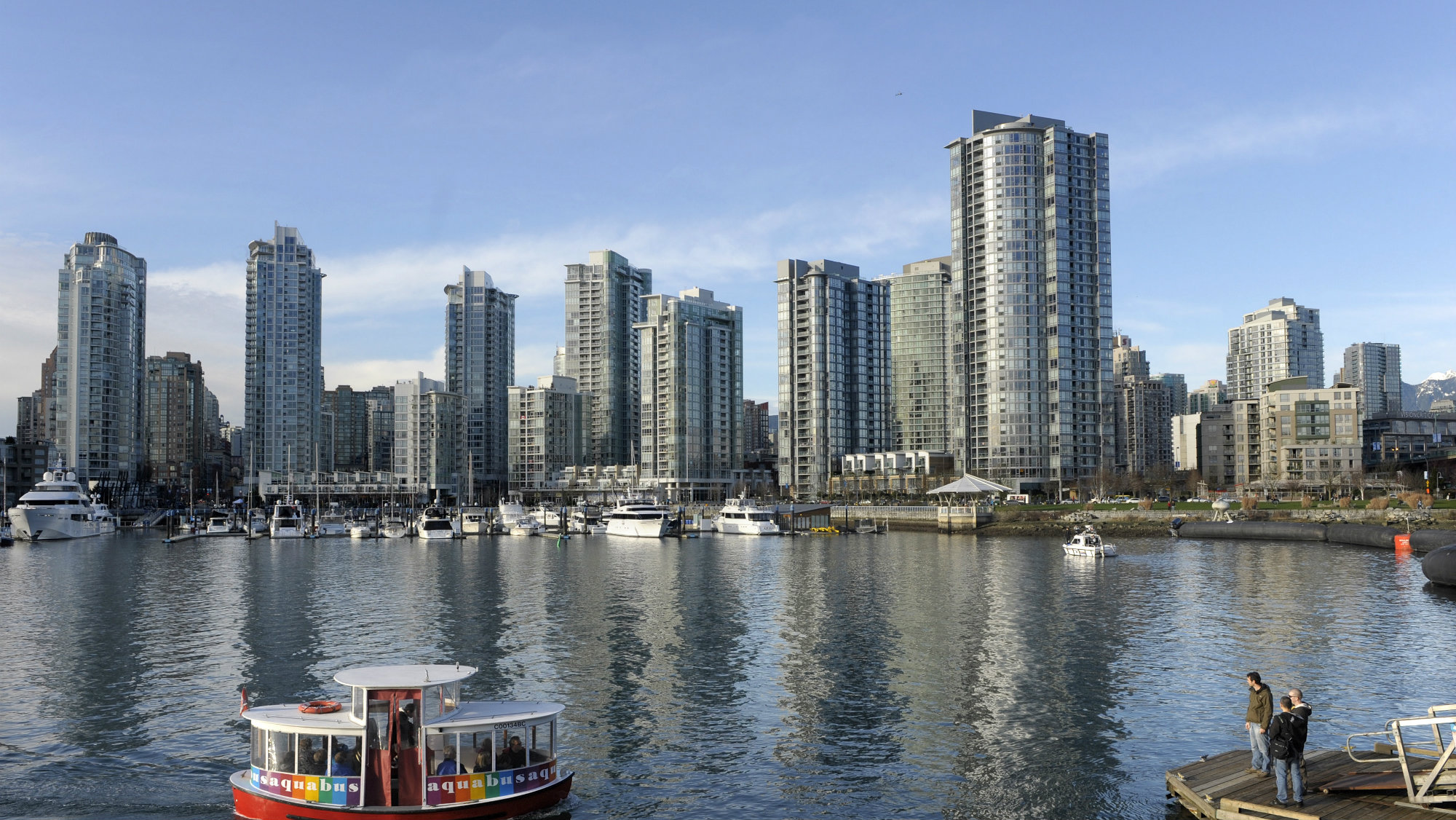 Vancouver skyline and harbour