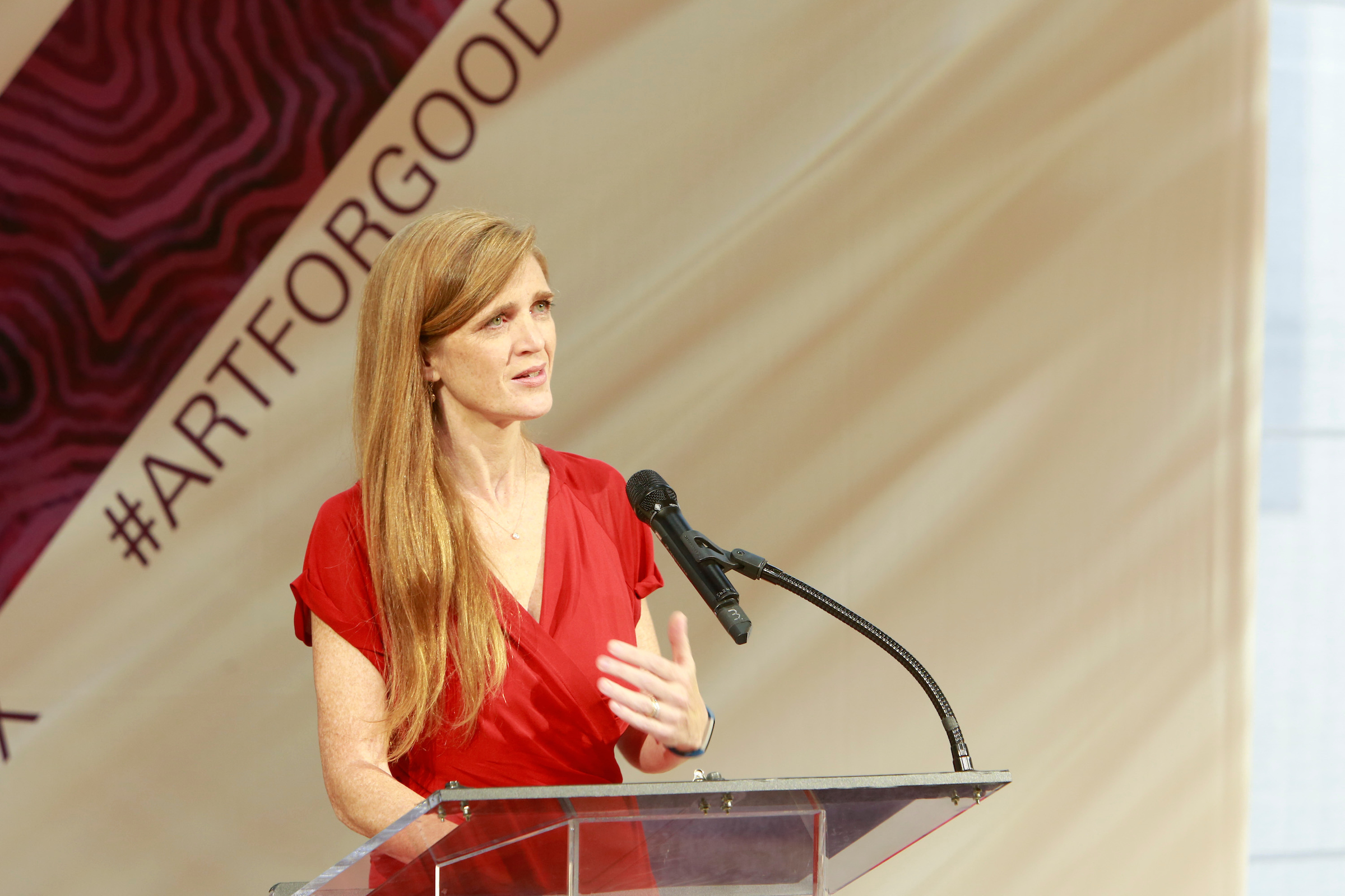 U.S Permanent Representative to the United Nations, Samantha Power