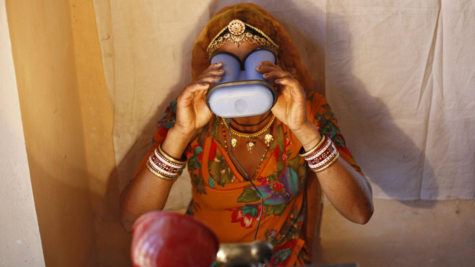 India-Village-Technology