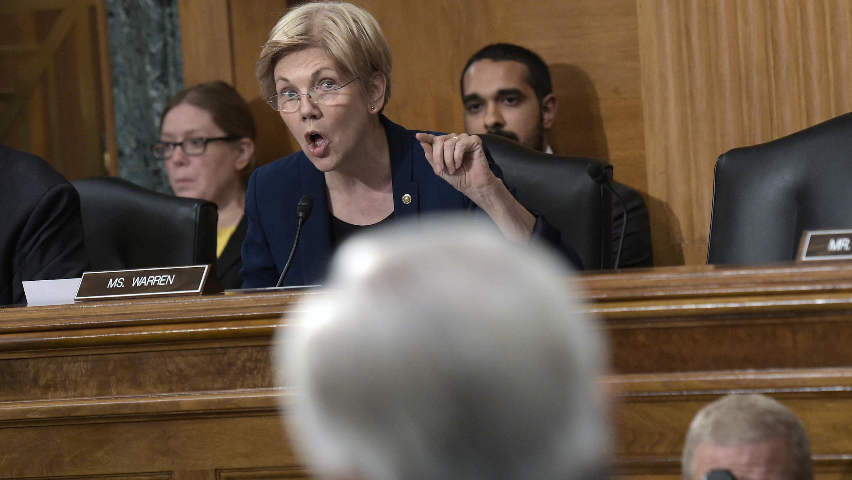 John Stumpf,Elizabeth Warren