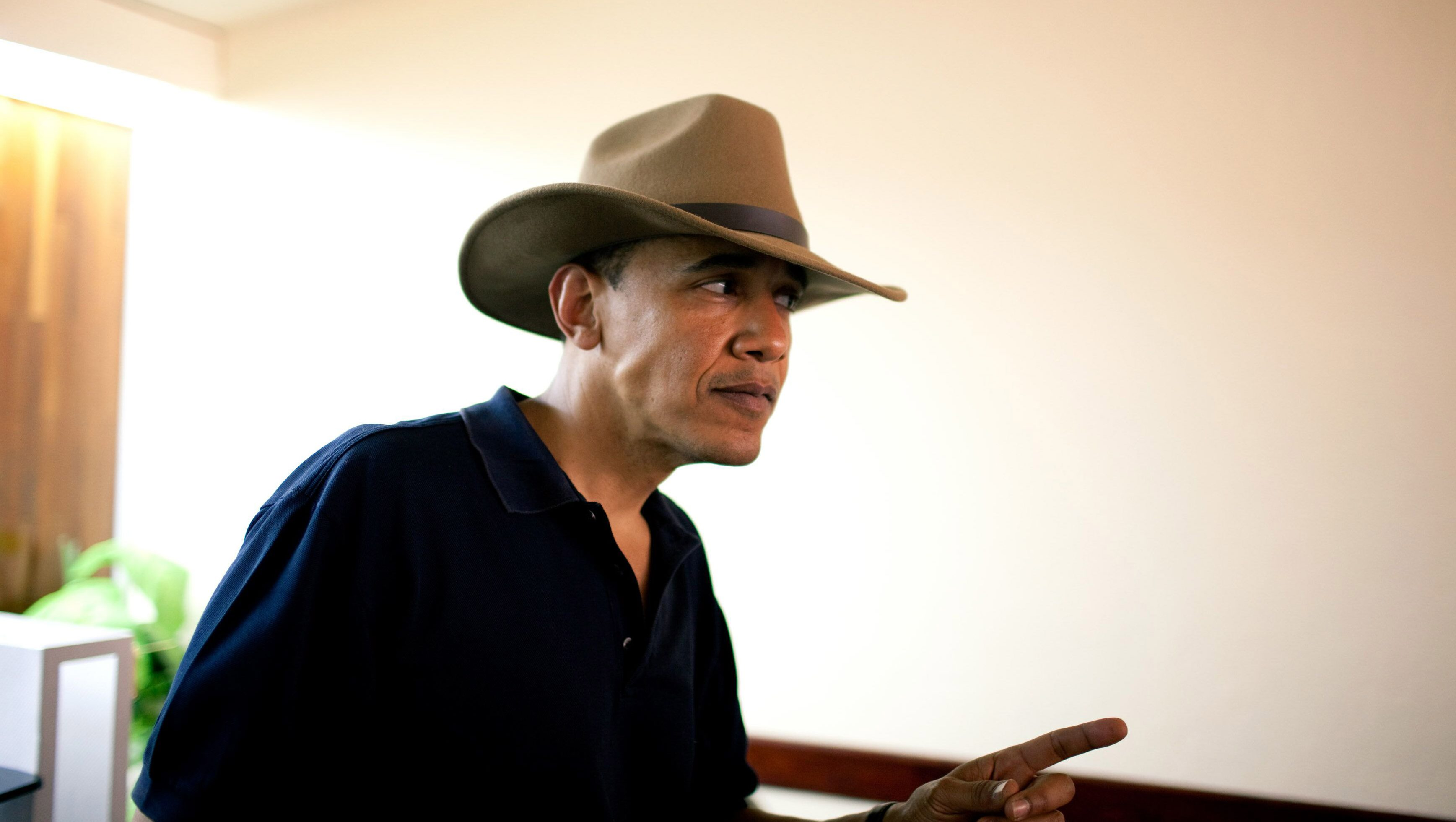 obama oval office. U.S. President Barack Obama Wears A Classic Explorers Hat As He Tours The Egyptian Great Pyramids Oval Office