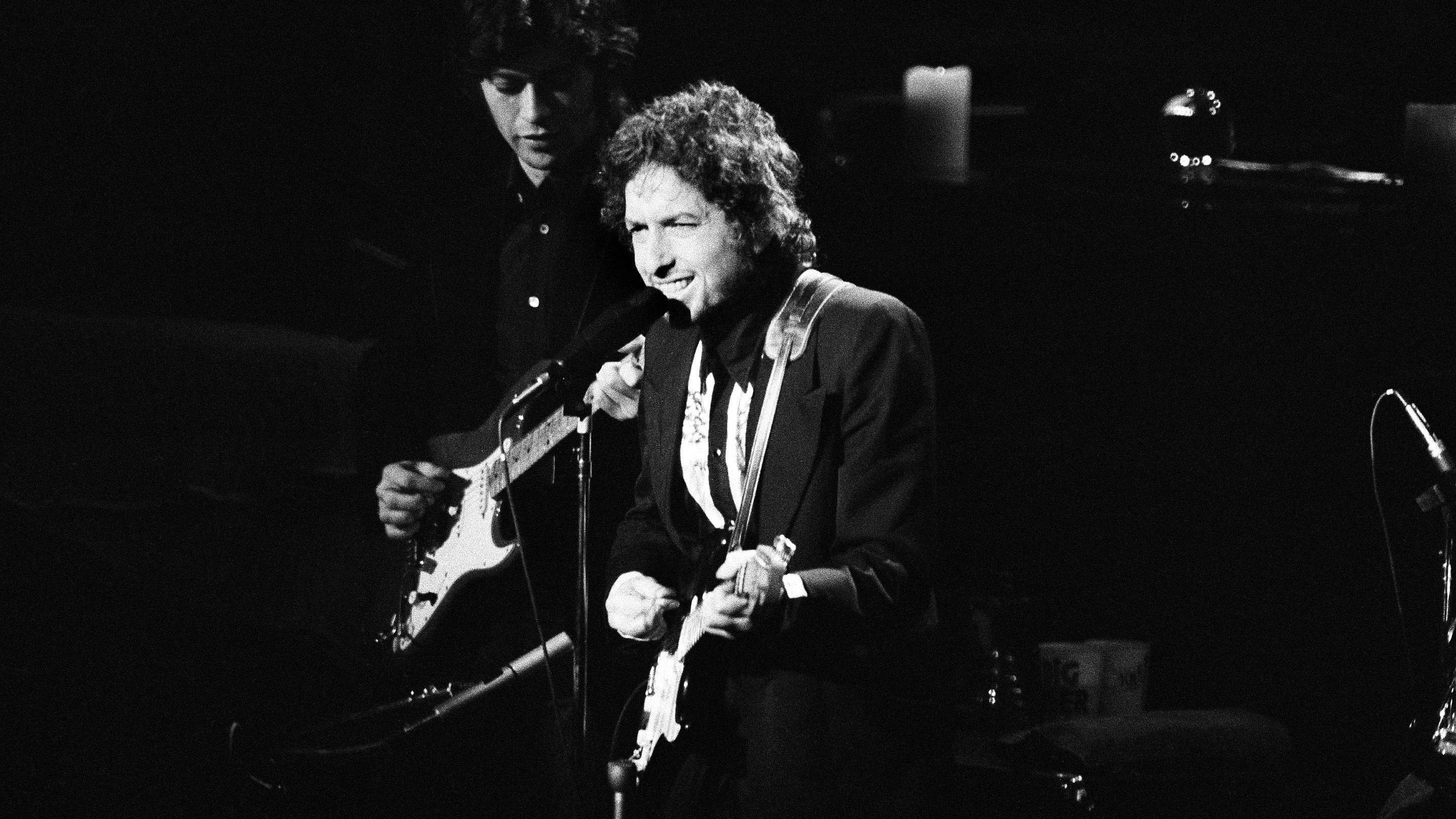 Bob Dylan in 1974.