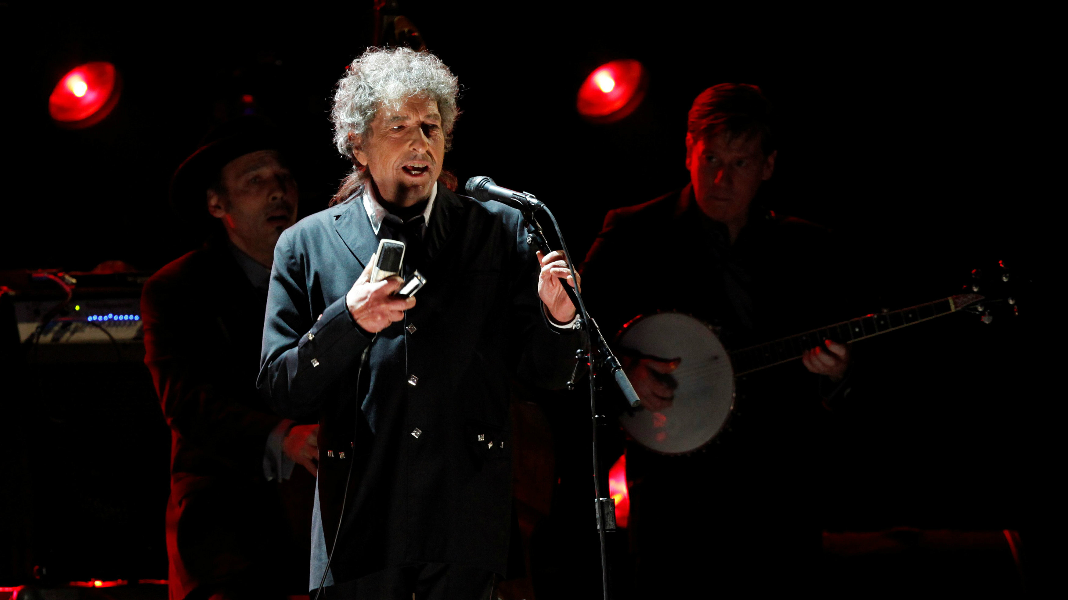 """Bob Dylan said he'll attend the Nobel Prize ceremony """"if it's at all possible."""""""