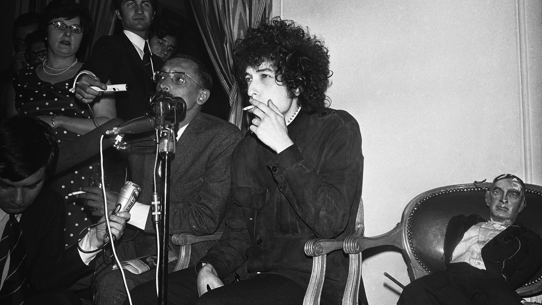 France Paris Bob Dylan Presser