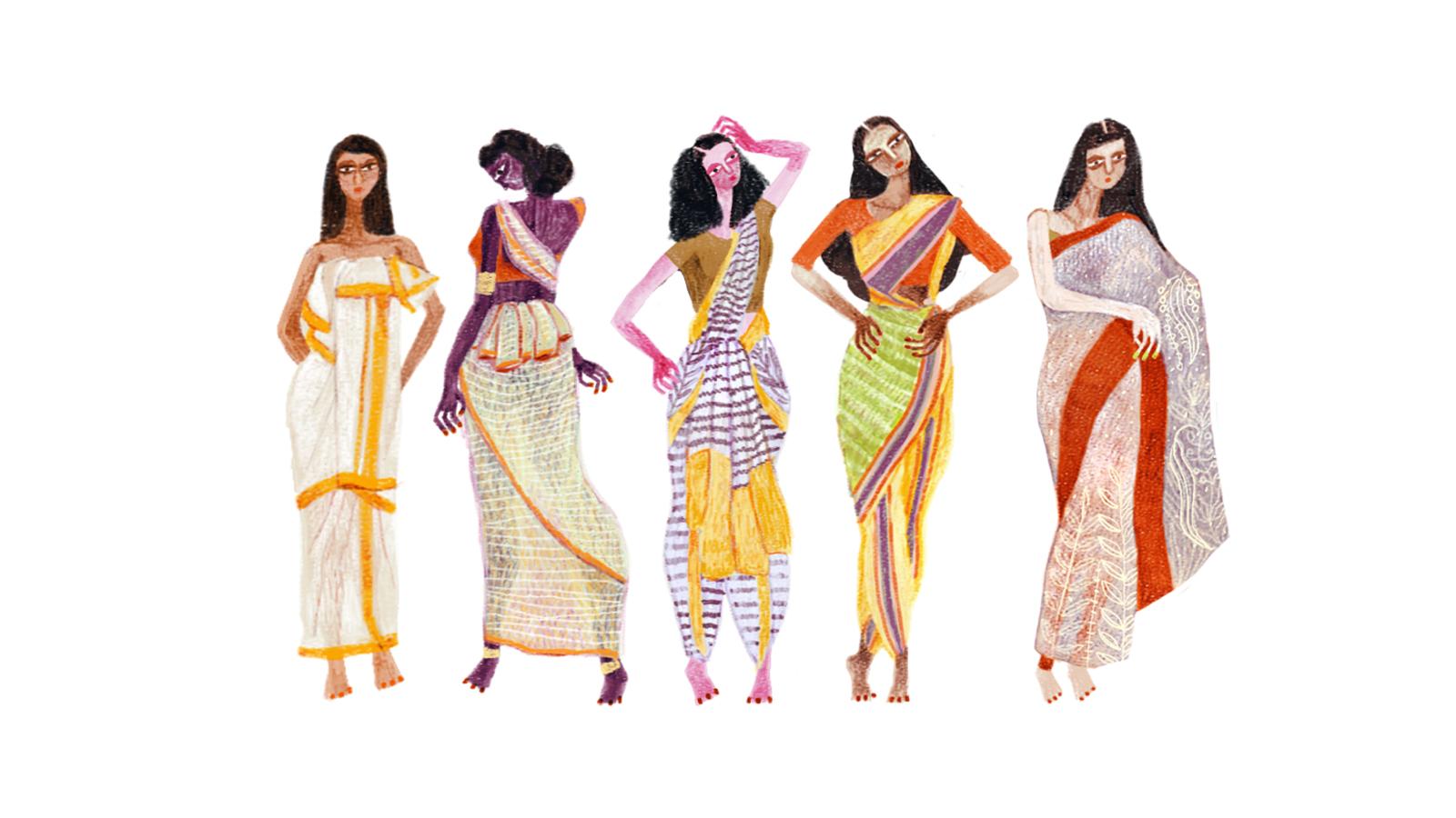 India-sari-history-heritage