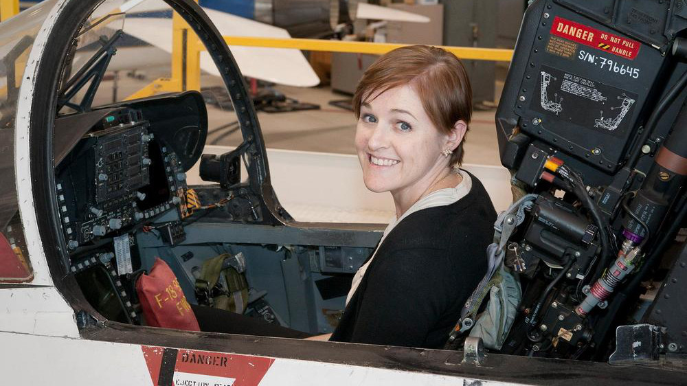 Brooke Owens, the late space expert who inspired a new fellowship for women in aerospace.
