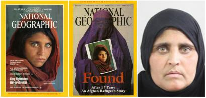 National Geographic's iconic Afghan Girl is arrested for