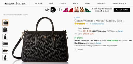 28589fa775 For luxury brands like Louis Vuitton (LVMHF), Amazon (AMZN) is a ...