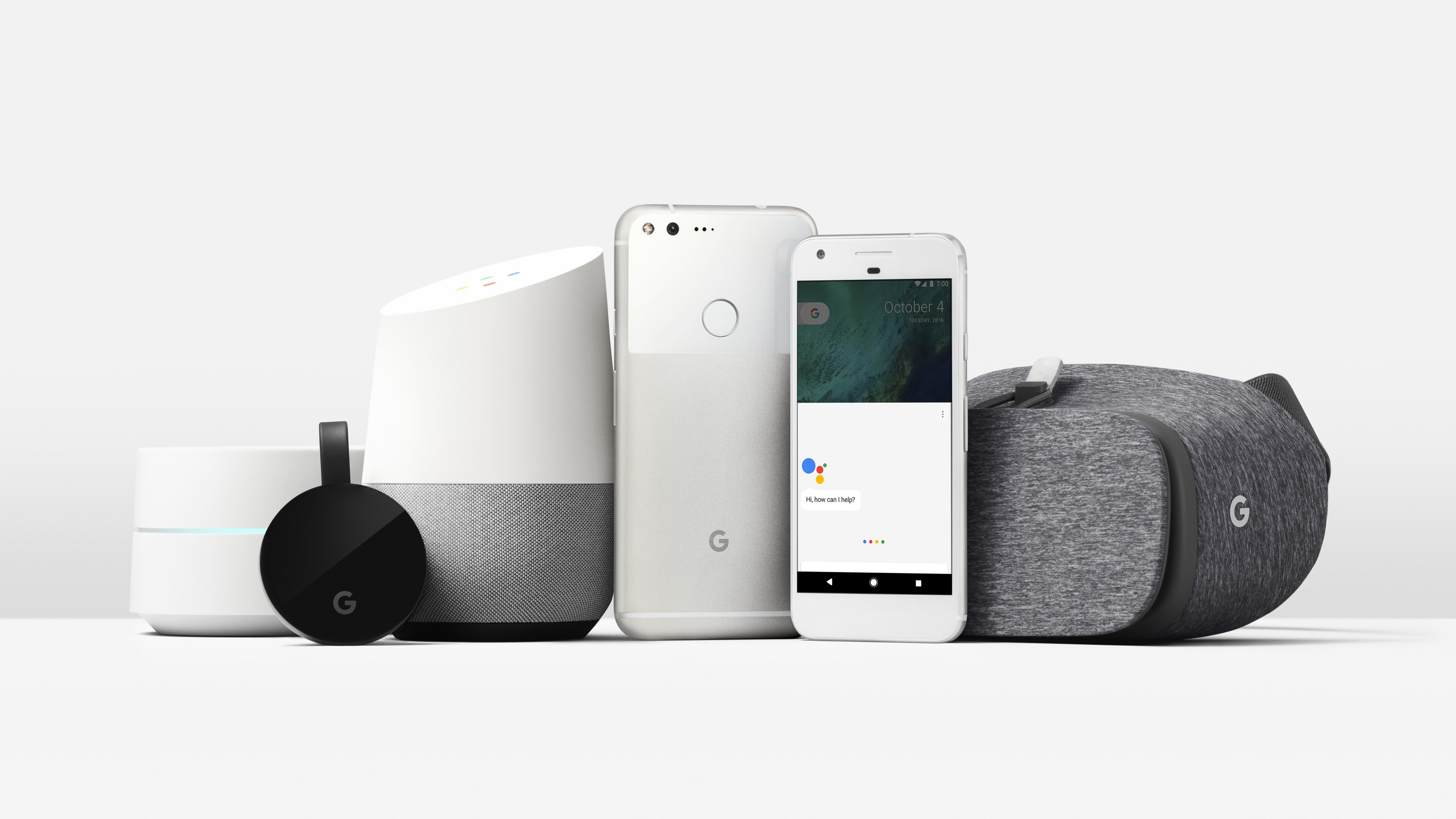 Google's new devices and services.