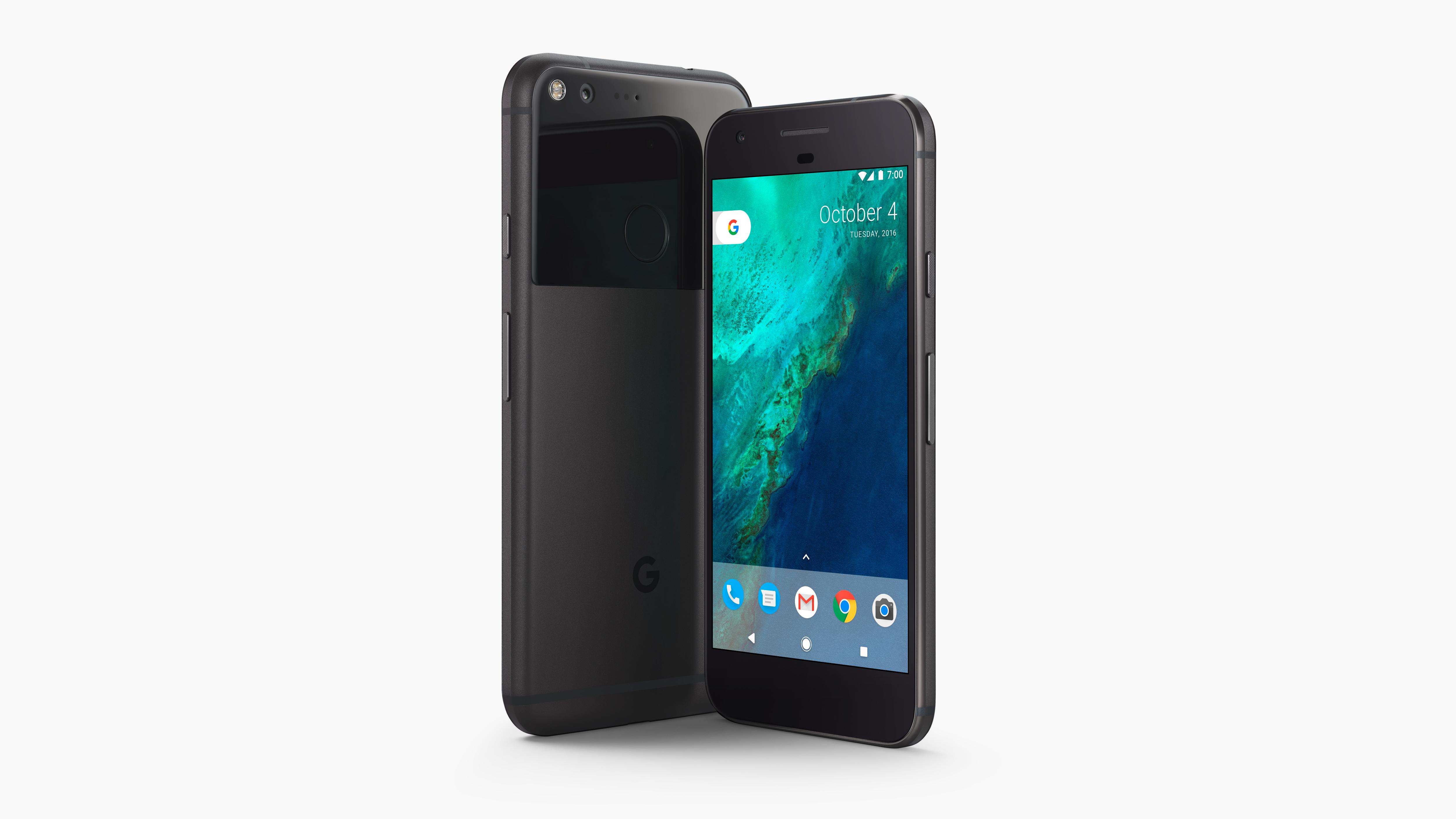 The new Google Pixel smartphone