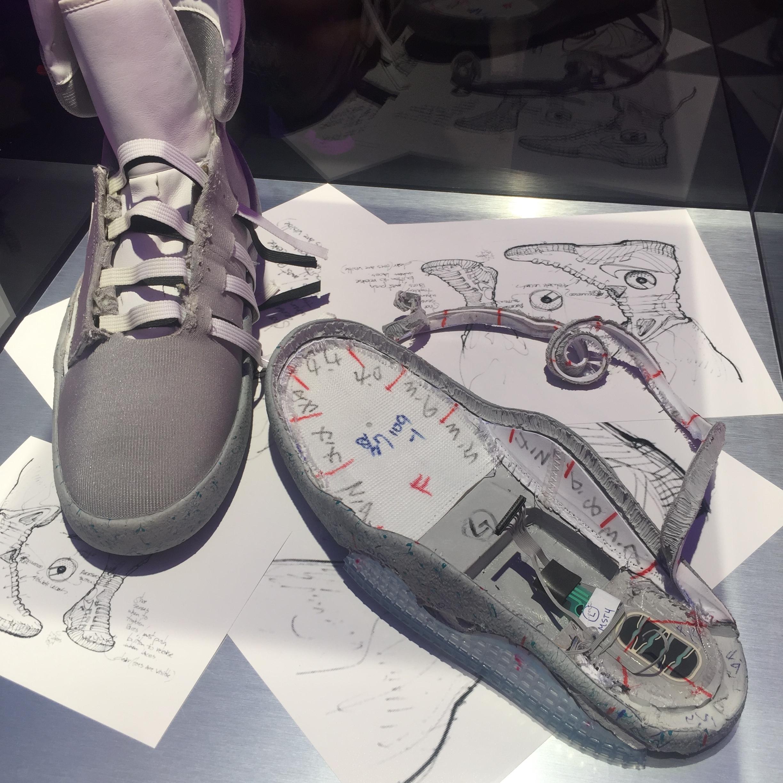 HyperAdapt and Mag self-lacing sneakers