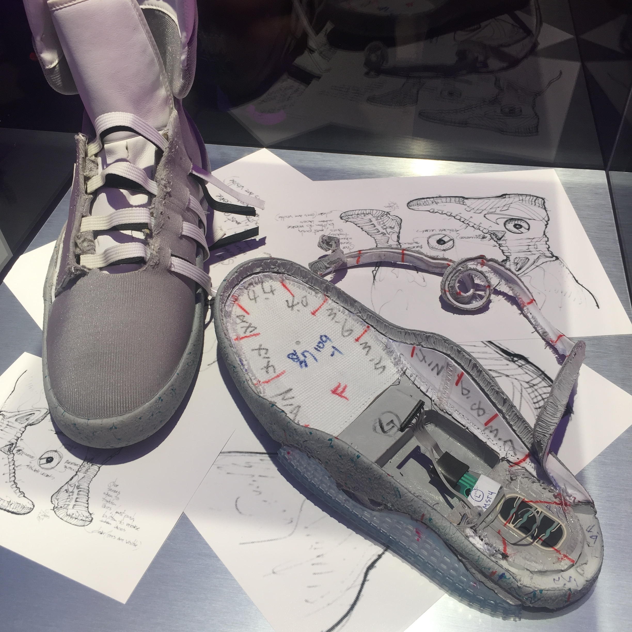 16d0f72d7d0e How Nike s HyperAdapt and Mag self-lacing sneakers were created — Quartz