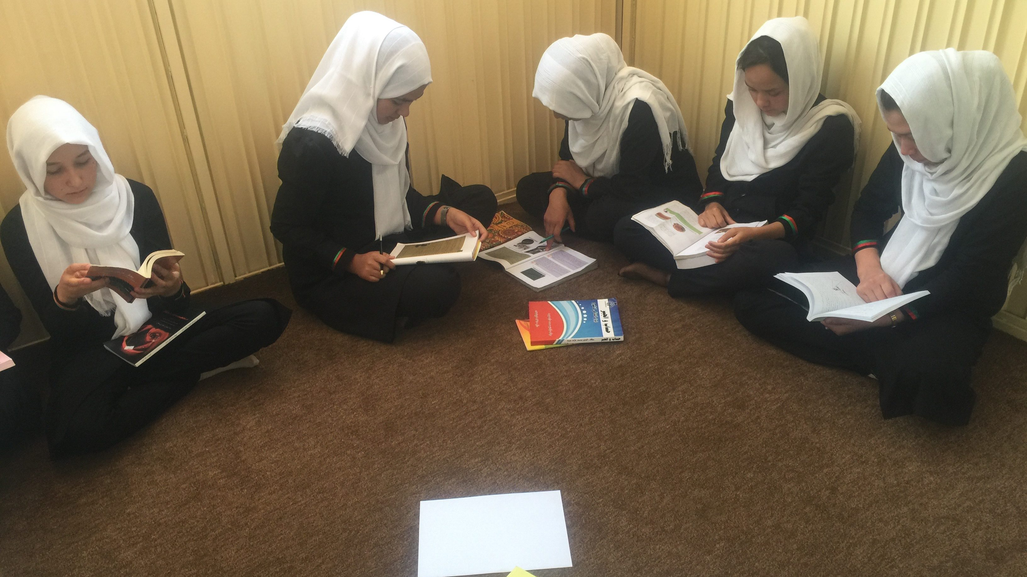 Silent reading time.