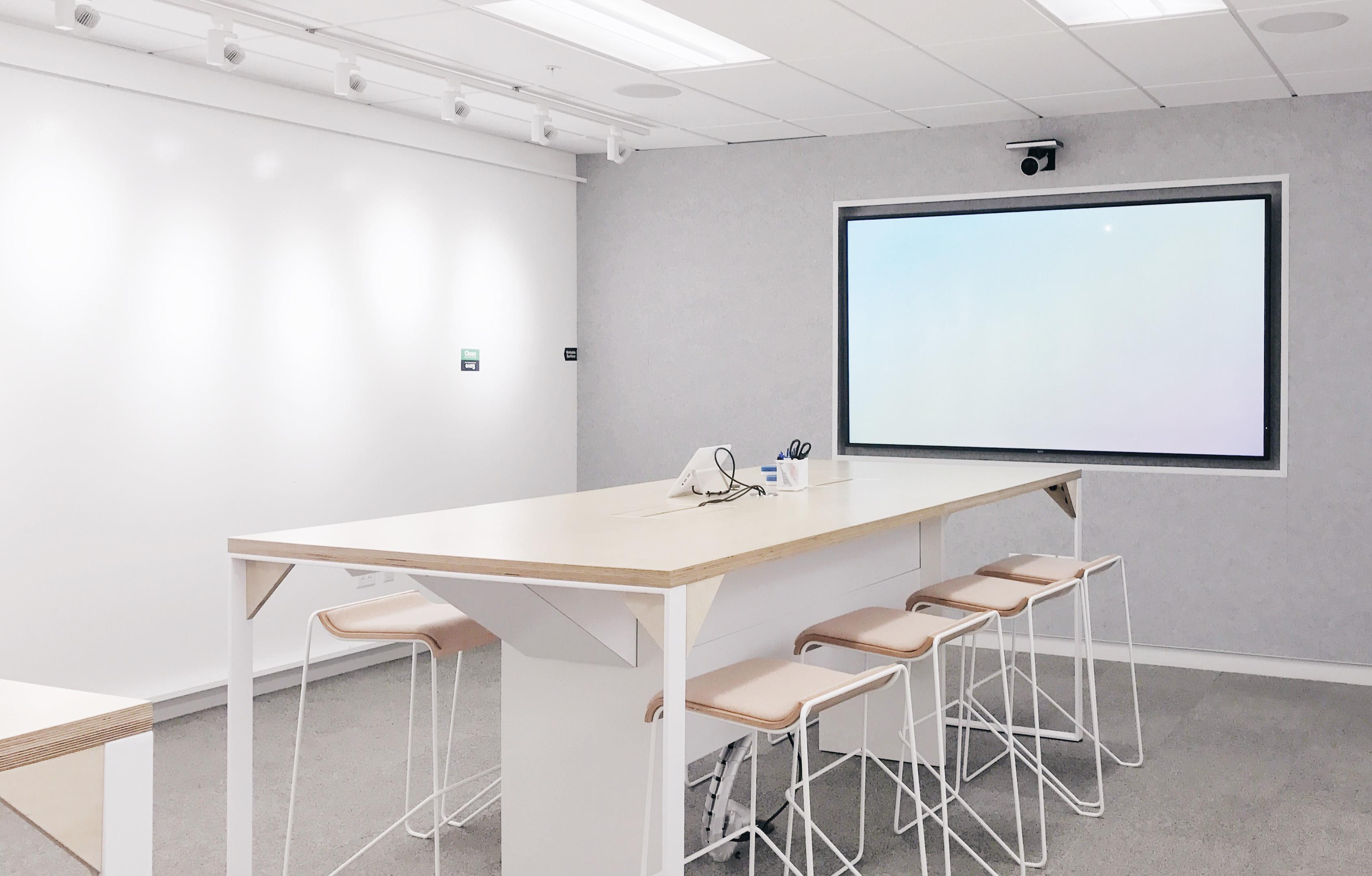 Design room in the New Instagram office.