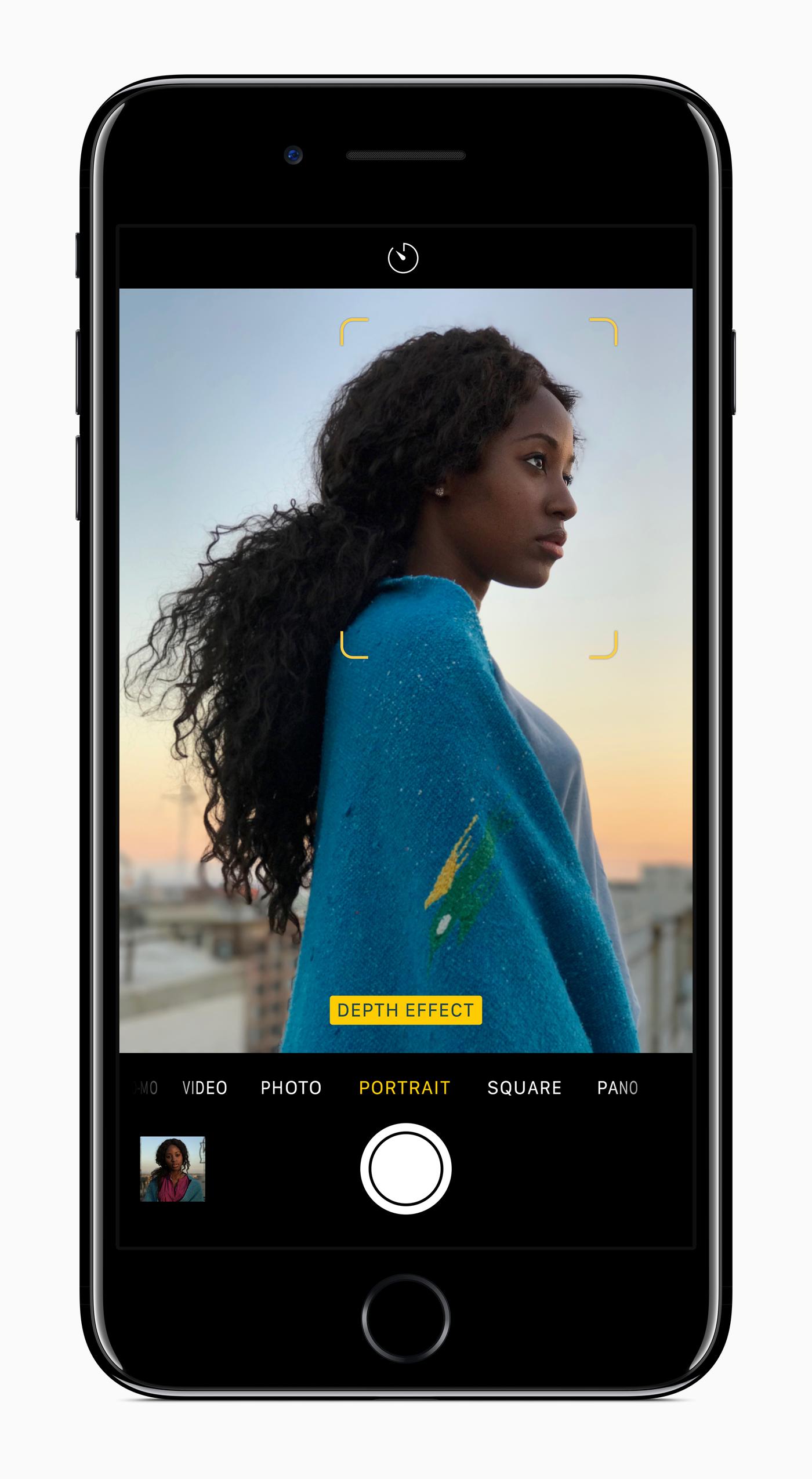 iPhone 7 Portrait Mode