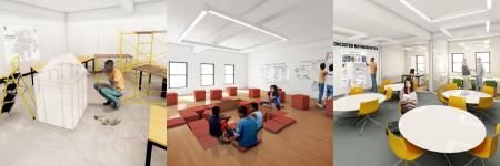 An example of the School Box learning space.