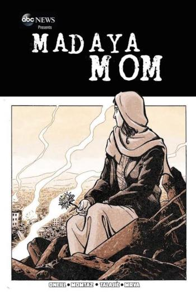 "Marvel and ABC New's digital comic ""Madaya Mom"""