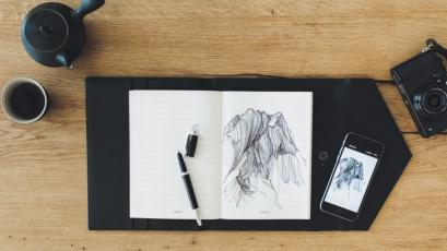 Montblanc Augmented Paper with drawing