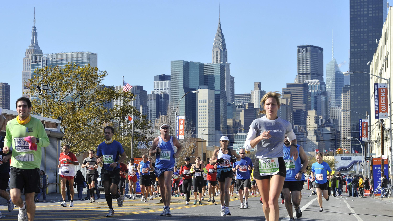 APTOPIX NYC Marathon Athletics
