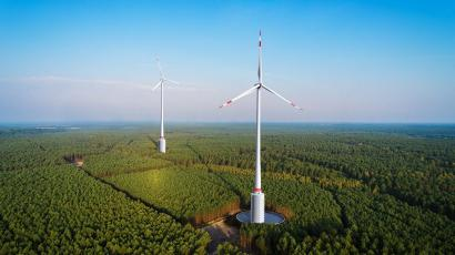 Germany is building the world's first wind turbines with
