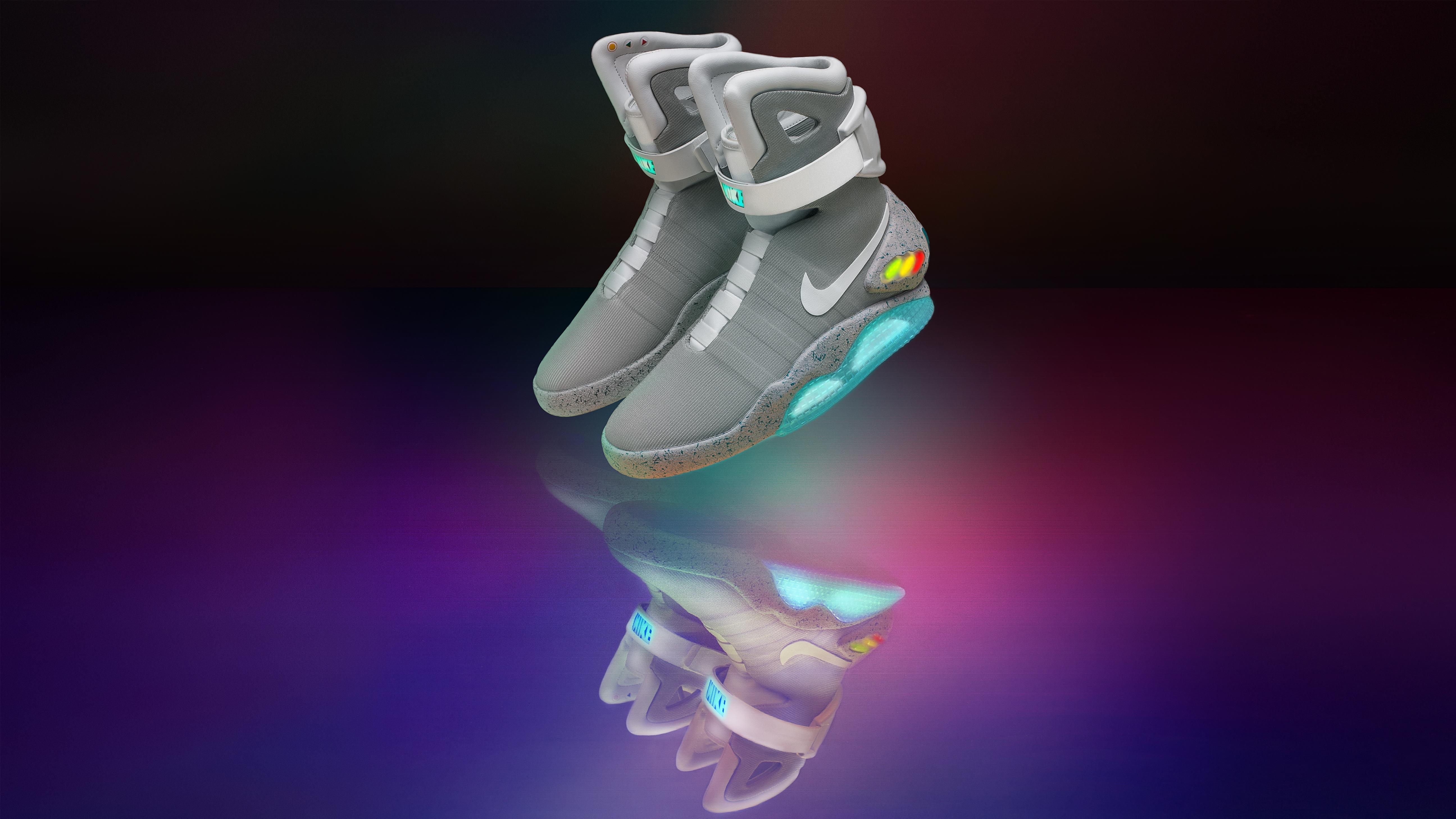 self-lacing Nike Mag sneakers