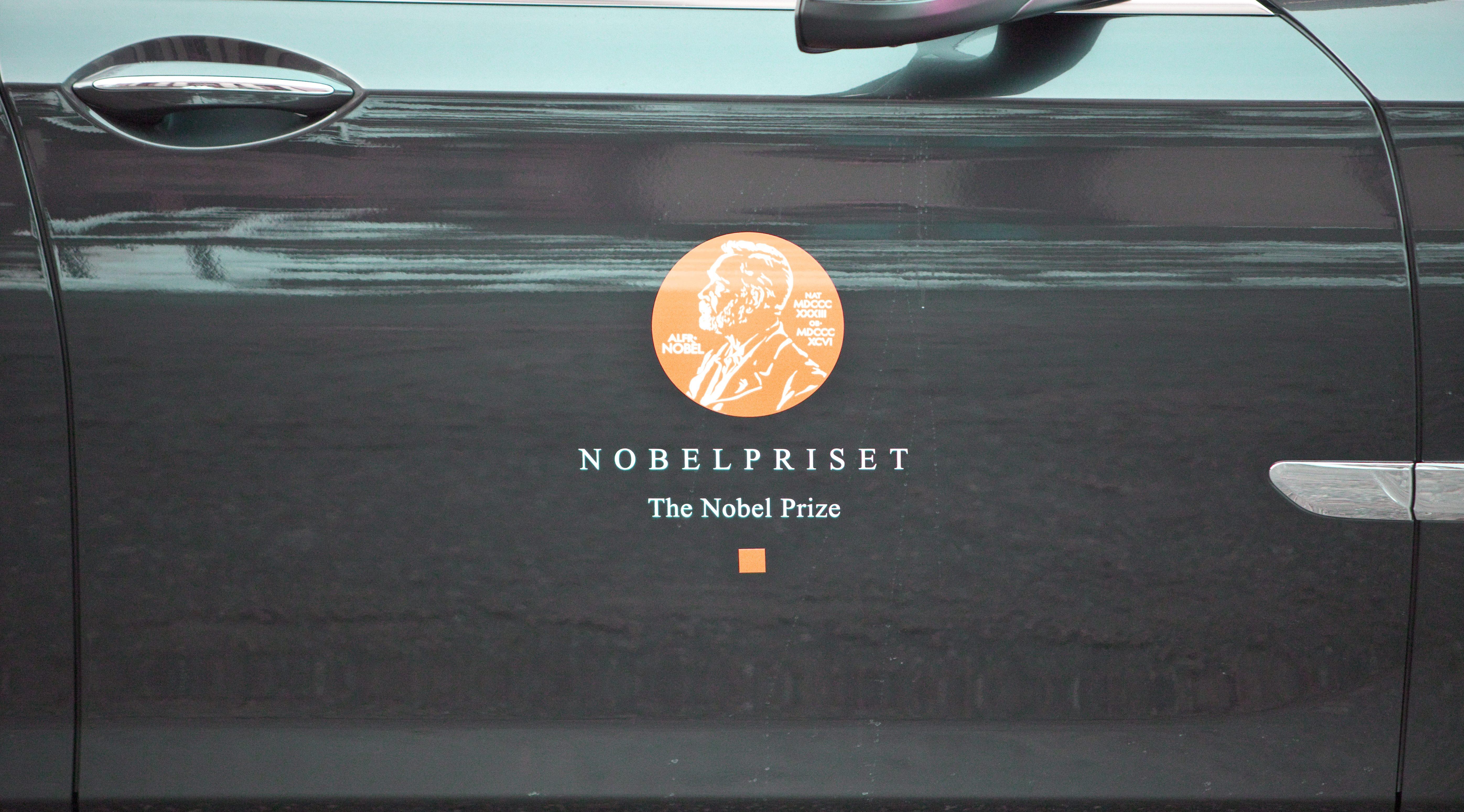 Nobel Prize cortege 2012