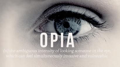 Opia, sonder, liberosis: The dictionary for all the emotions