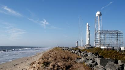 Two years ago, this Orbital ATK Antares rocket exploded