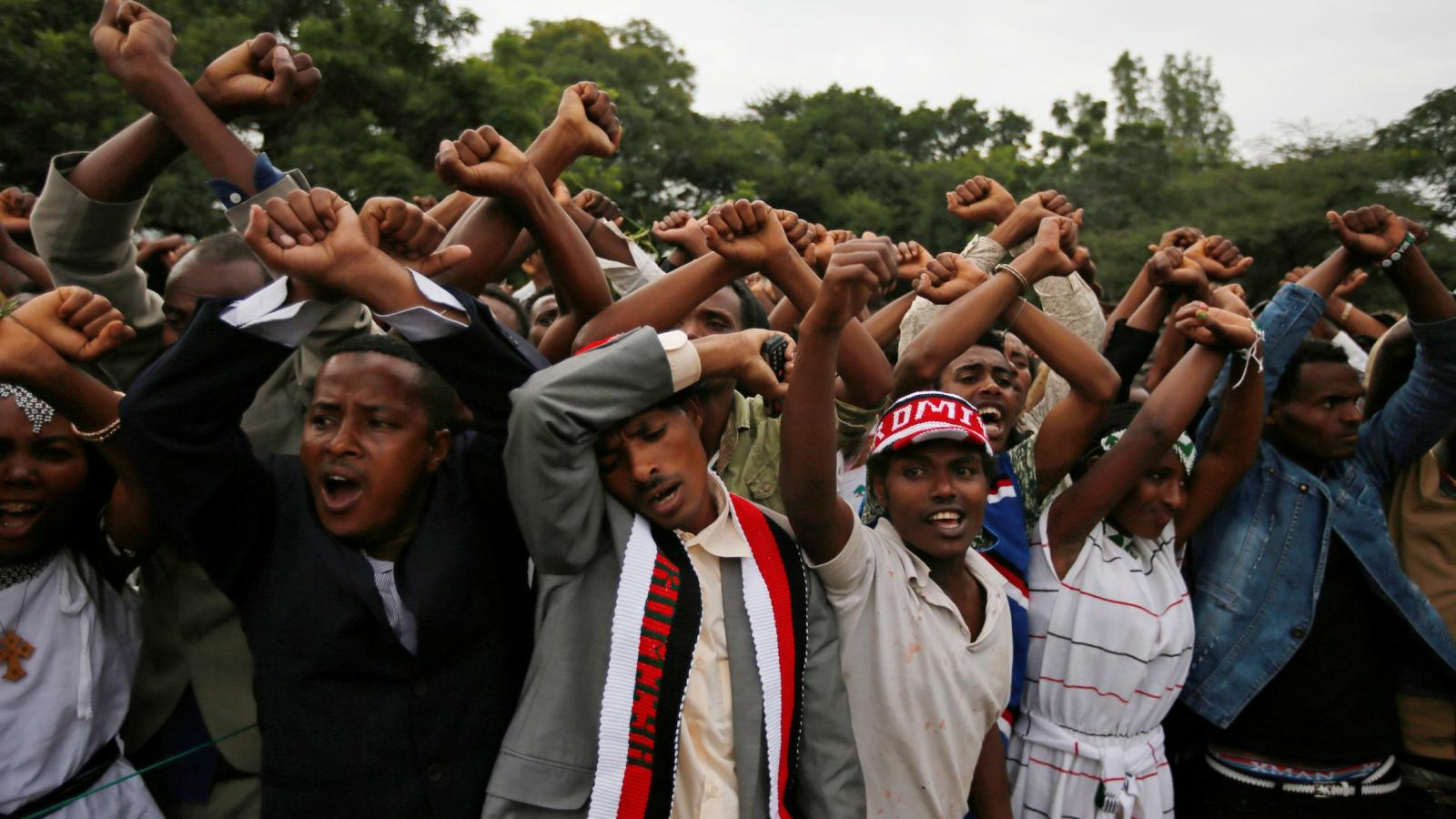 Ethiopia is in a state of national mourning after 52 Oromo