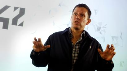 Peter Thiel Donald Trump supporter