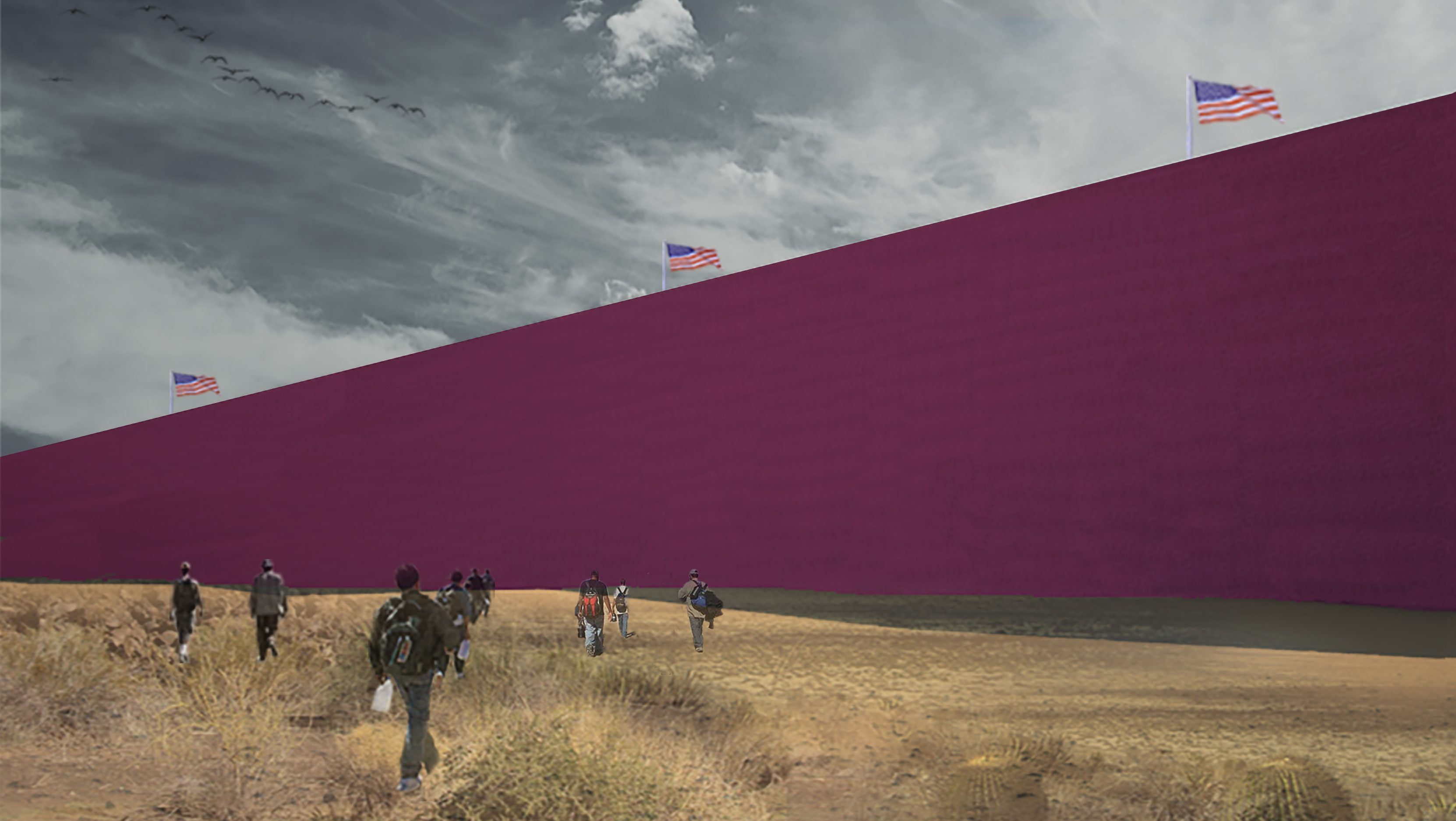 US-Mexico border wall designed by Mexico Estudio 3.14