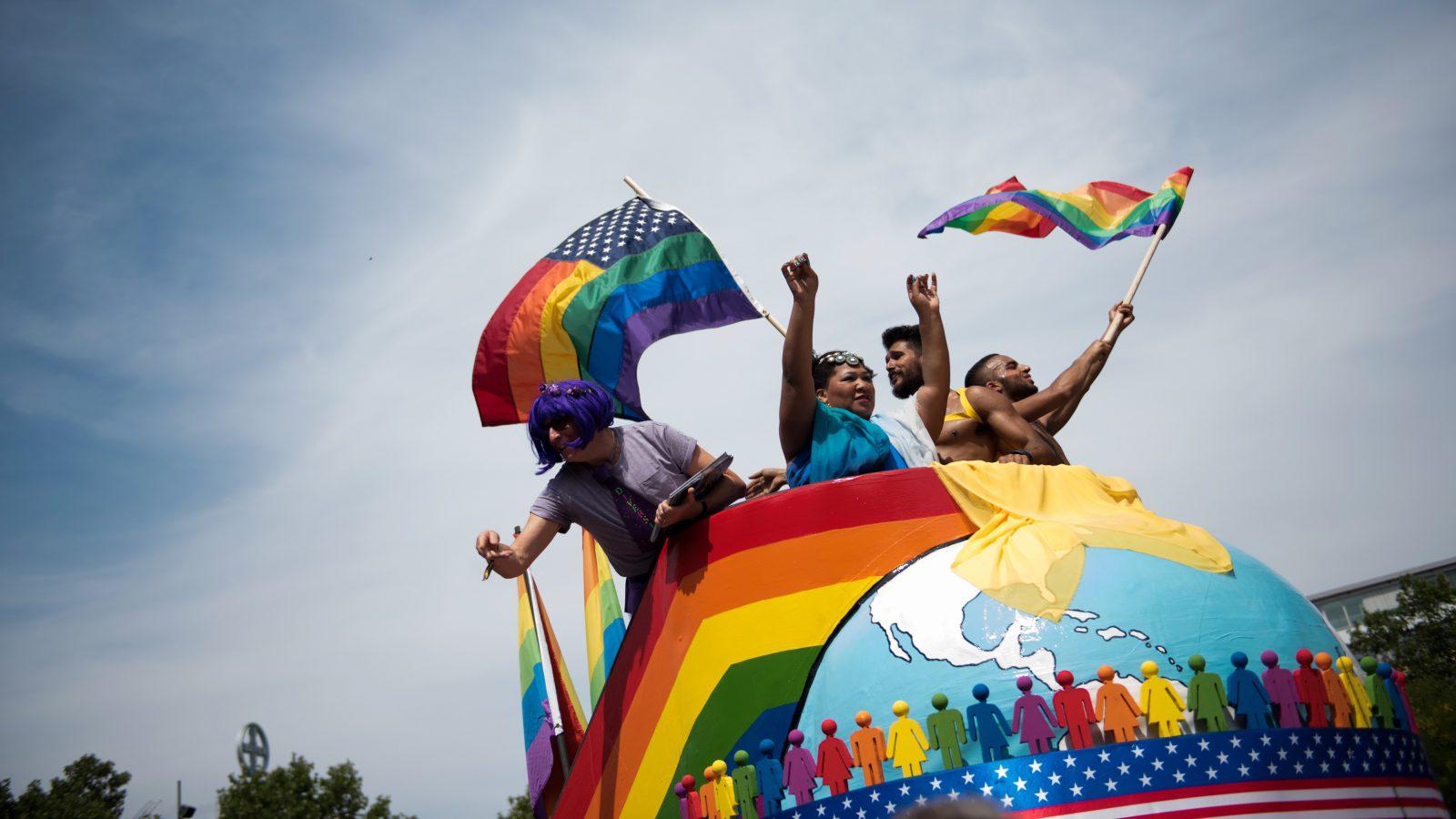 Pride celebration in Berlin.