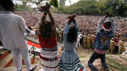 Ethiopia's state of emergency may ban protest gesture of